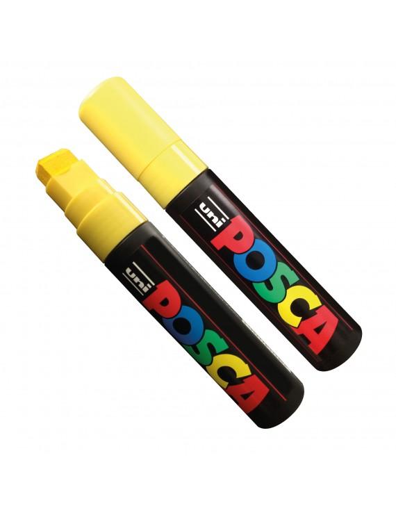 Uni Posca Marker, yellow, 15 mm