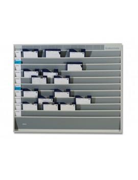 Shelf for document organization