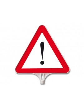 Road sign (triangle-Attention)