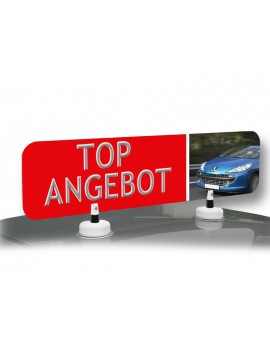 Car Topper with your advertising imprint